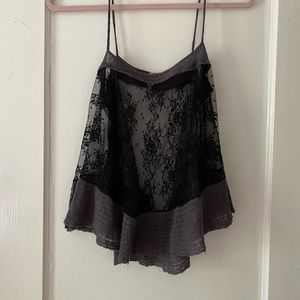 2/$20 Free People Intimately lace cami
